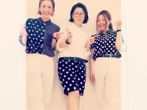 水玉ファッション♡