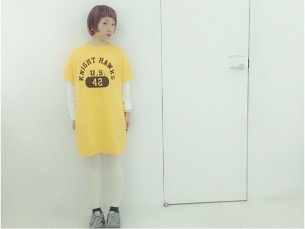 元気いっぱいイエローファッション♡