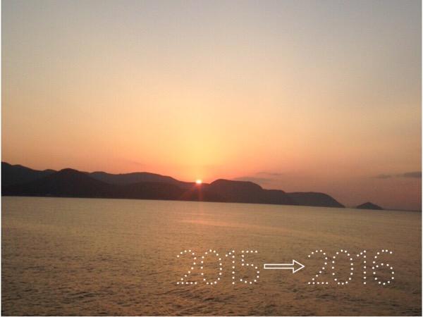 2015年の締めくくり。