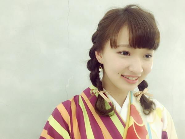 卒業式ヘアセット☆