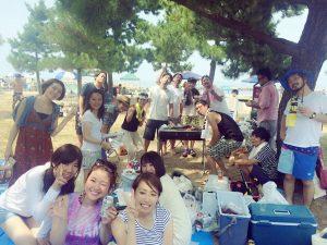 2016.夏やっと海にいけました!愉快な仲間とBBQ〜♡