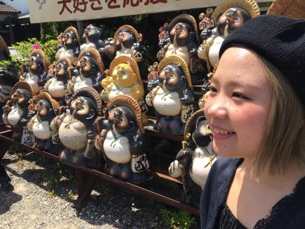 滋賀の旅。信楽焼き体験!!
